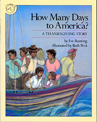 9780395547779: How Many Days to America?: A Thanksgiving Story