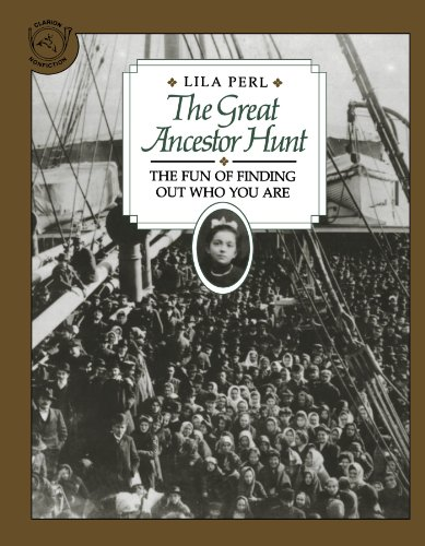 9780395547908: The Great Ancestor Hunt: The Fun of Finding Out Who You Are (Clarion Nonfiction)