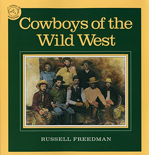 9780395548004: Cowboys of the Wild West