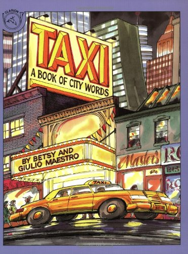9780395548110: Taxi: A Book of City Words