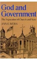 9780395549773: God and Government: The Separation of Church and State