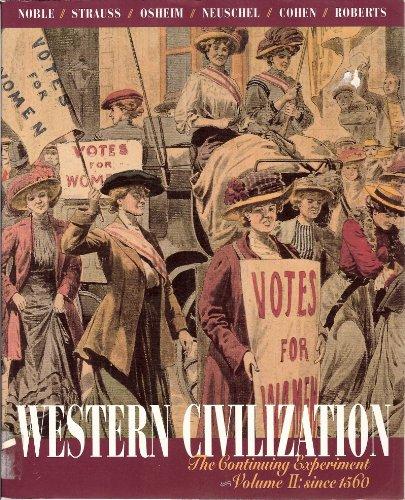 9780395551233: Western Civilization (v. 2)
