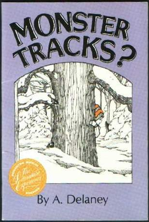 9780395551387: Monster Tracks? (The Literature Experience)