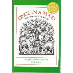 9780395551493: Once a Wood: Ten Tales from Aesop
