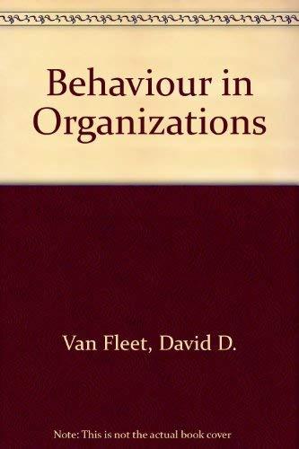 9780395554326: Behavior in Organizations