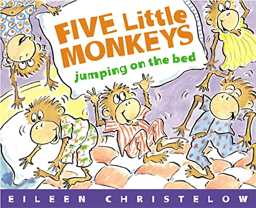 9780395557013: Five Little Monkeys Jumping on the Bed