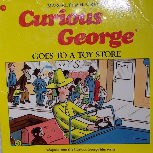 9780395557143: Curious George Goes to a Toy Store