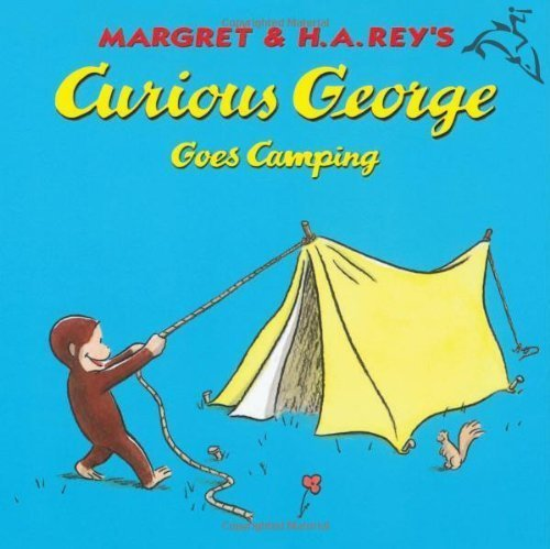 9780395557266: Curious George Goes Camping