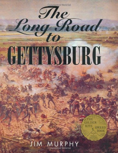 The Long Road to Gettysburg (0395559650) by Murphy, Jim
