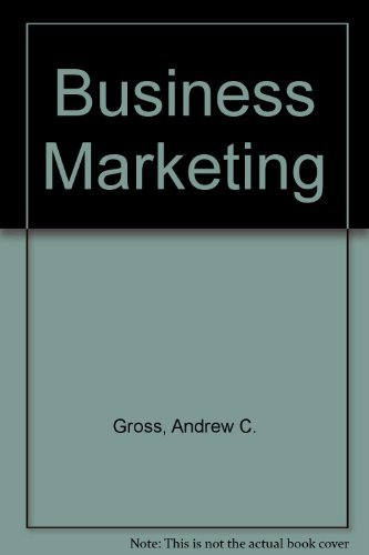 9780395560839: Business Marketing