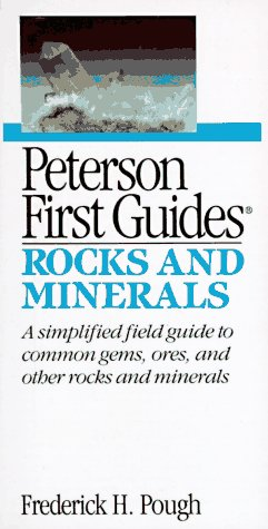 9780395562758: Peterson First Guide(R) to Rocks and Minerals (Peterson First Guides)