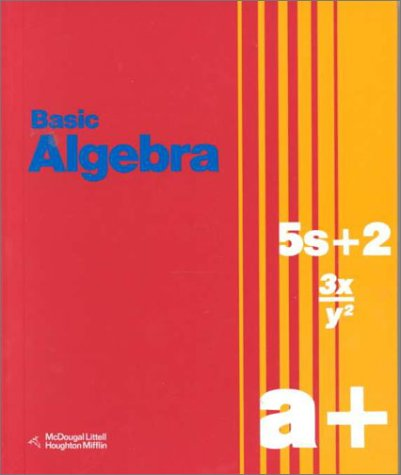 Basic Algebra (0395564808) by Richard G. Brown; Geraldine D. Smith; Mary P. Dolciani