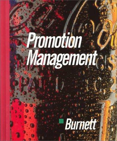 9780395565537: Promotion Management