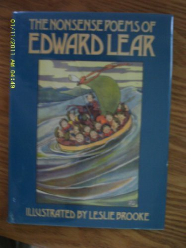 9780395570012: The Nonsense Poems of Edward Lear