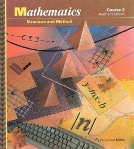 9780395570142: Mathematics: Structure and Method, Course 2, Teacher's Edition, 1992