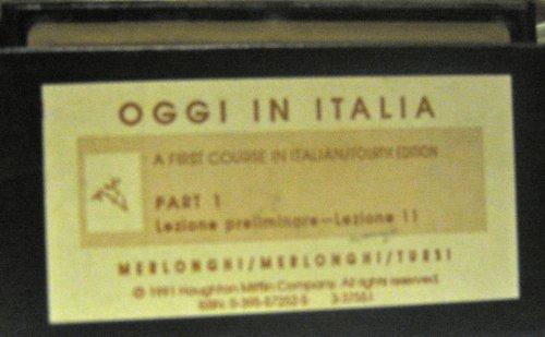 9780395572528: Oggi in Italia