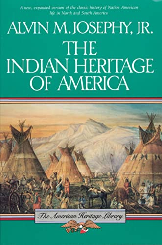 9780395573204: The Indian Heritage of America (The American Heritage Library)