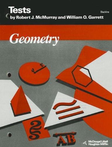 9780395573327: Geometry: Tests - Blackline
