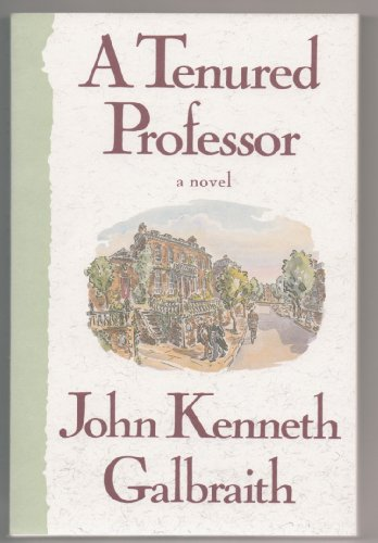 9780395574249: A Tenured Professor