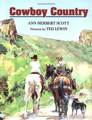 9780395575611: Cowboy Country