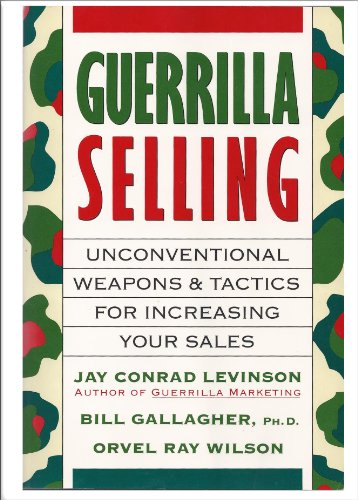 9780395580394: Title: Guerrilla selling Unconventional weapons and tacti