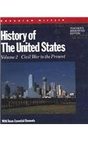 9780395582923: History of the United States, Civil War to the Present