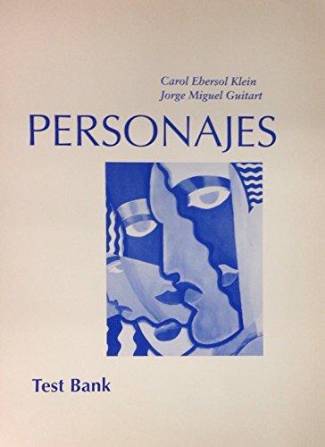 Personajes: Carol E. Klein;