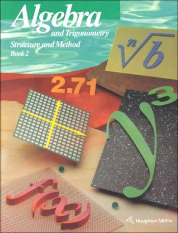 9780395585368: Algebra and Trigonometry: Structure and Method Book 2