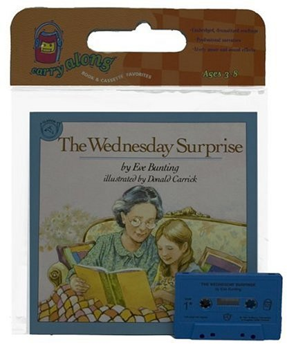9780395586990: The Wednesday Surprise Book & Cassette (Book & Cassette Favorites)