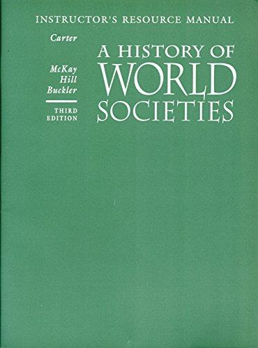 9780395589069: History of World Societies 3e Tmnkranspm