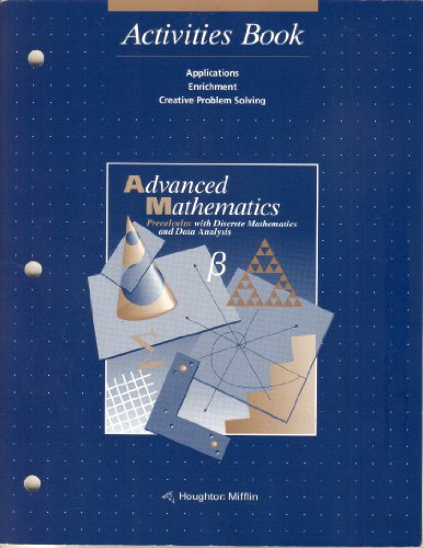 McDougal Littell Advanced Math: Activities Blackline Masters Grades 9-12: MCDOUGAL LITTEL