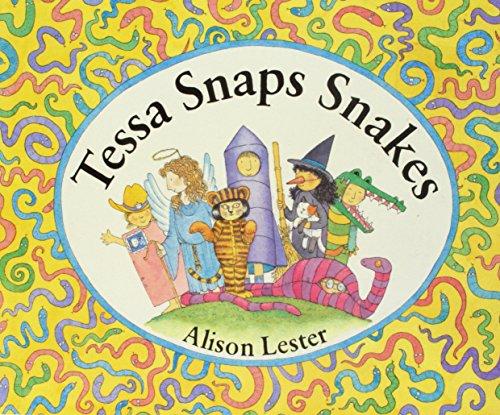 9780395595053: Tessa Snaps Snakes