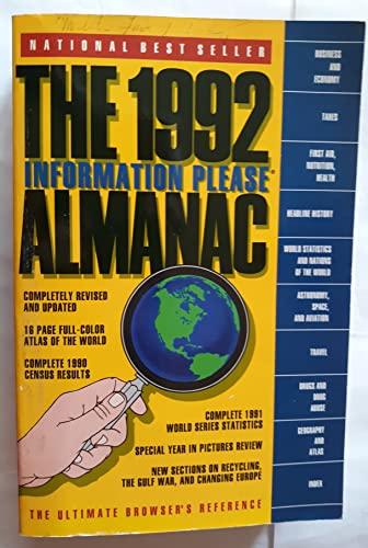 The 1992 Information Please Almanac: Company, Houghton Mifflin