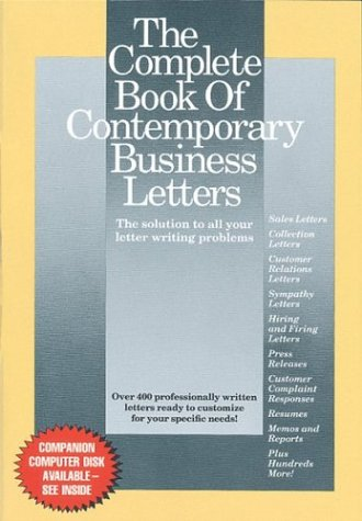 9780395596852: The Complete Book of Contemporary Business Letters