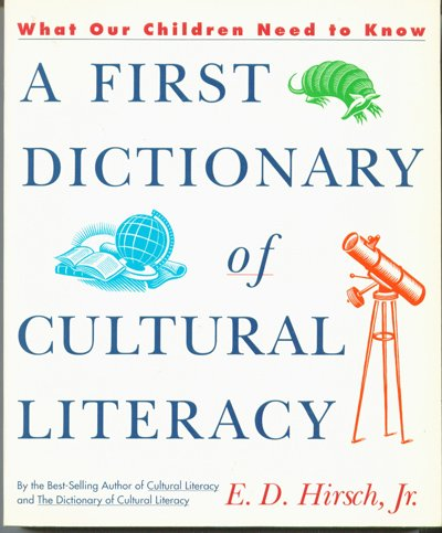 9780395599013: A First Dictionary of Cultural Literacy