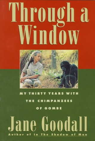 9780395599259: Through a Window - My Thirty Years With the Chimpanzees of Gombe