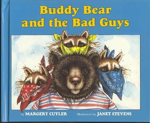 9780395599396: BUDDY BEAR & BAD GUYS CL