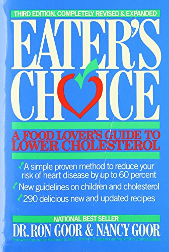 9780395605721: Eater's Choice: A Food Lover's Guide to Lower Cholesterol
