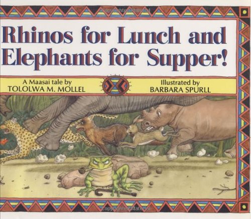 9780395607343: Rhinos for Lunch and Elephants for Supper!