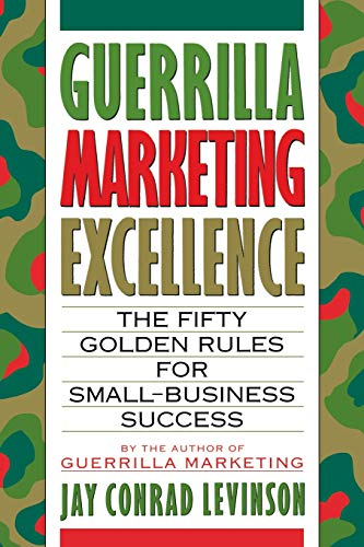 9780395608449: Guerrilla Marketing Excellence