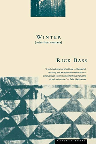 9780395611500: Winter: Notes from Montana