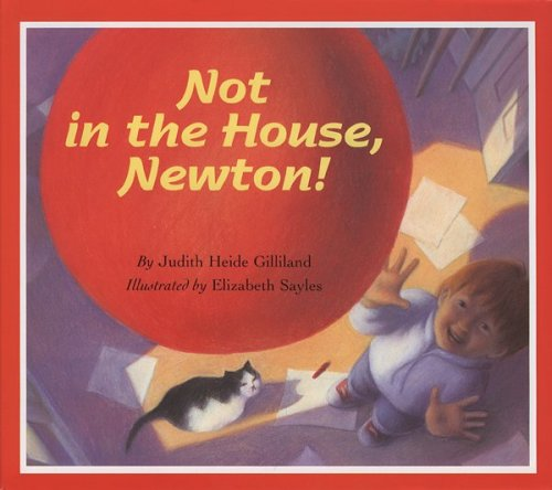 9780395611951: Not in the House, Newton!