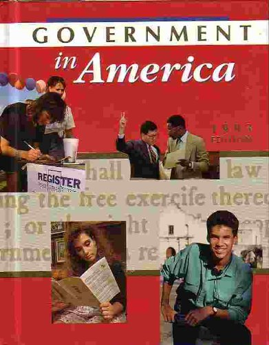 9780395612170: McDougal Littell Government in America: Student Test Grades 9-12 1993 (Hrdy Gvt 93-94-95-96)