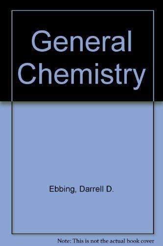 9780395613535: General Chemistry
