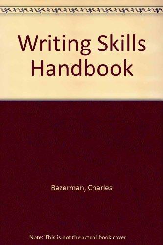 9780395614556: Writing Skills Handbook