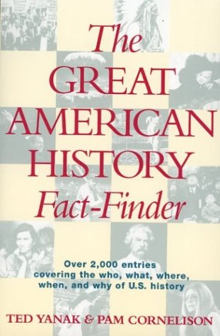 9780395617151: The Great American History Fact-Finder