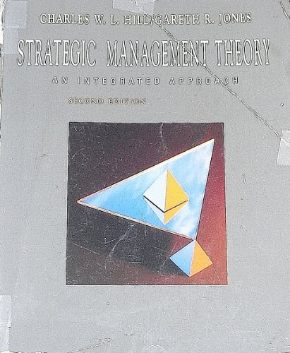 9780395621356: Strategic Management Theory: An Integrated Approach