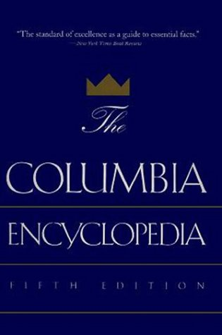 9780395624388: The Columbia Encyclopedia: Fifth Edition