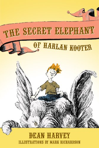 9780395625231: The Secret Elephant of Harlan Kooter