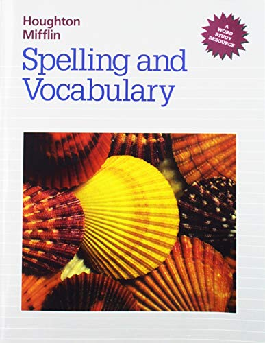 9780395626610: Houghton Mifflin Spelling and Vocabulary (Houghton Mifflin Grolier Writer)